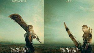 เผยโฉมโปสเตอร์-Monster-Hunter-คนแสดง